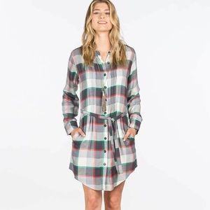 Matilda Jane Flannel Plaid Dress sz M